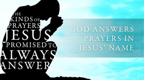 jesus answers prayer