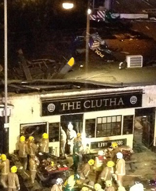 Glasgow helicopter crash