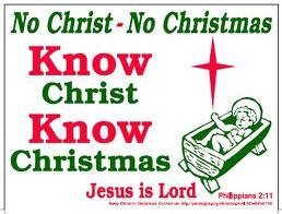 no christ no christmas