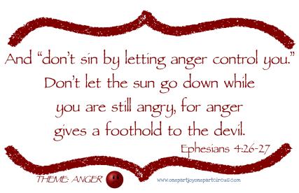 Ephesians 4 26-27