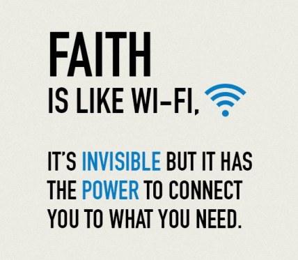 faith adn wifi