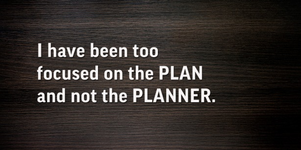 God is the planner