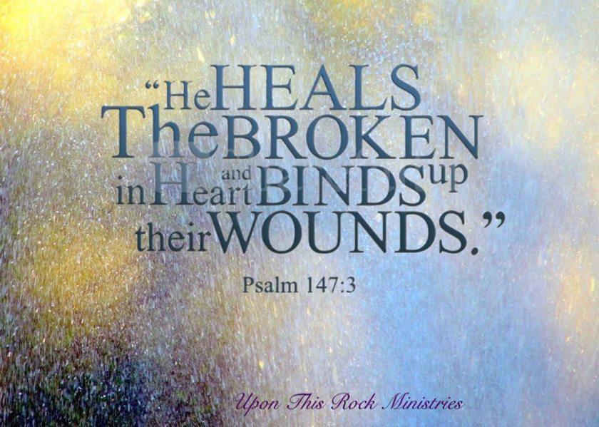 God Heals Brokenhearted
