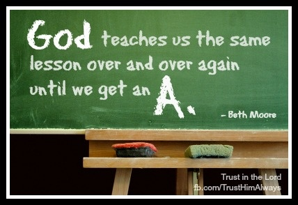 God teaches