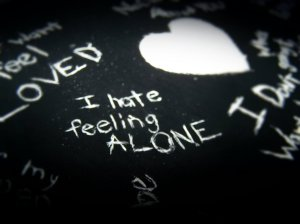 i hate feeling alone