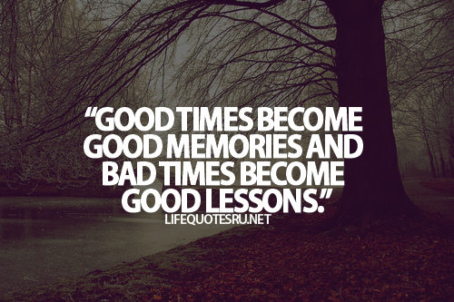 good lessons