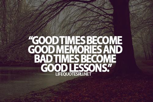 good lessons
