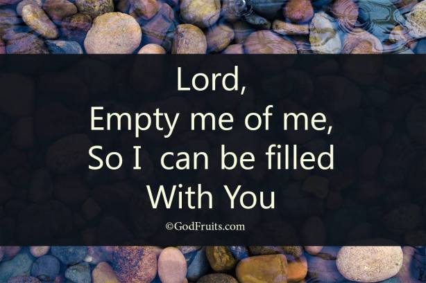 empty me and fill me