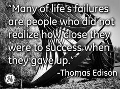 life's failures