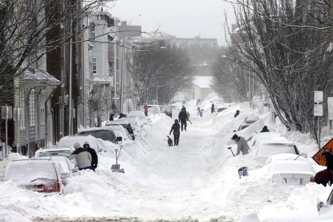 extreme snow Boston