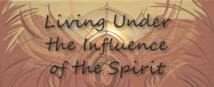 under the influence of the spirit
