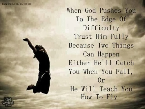 God will catch you