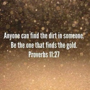 finding dirt