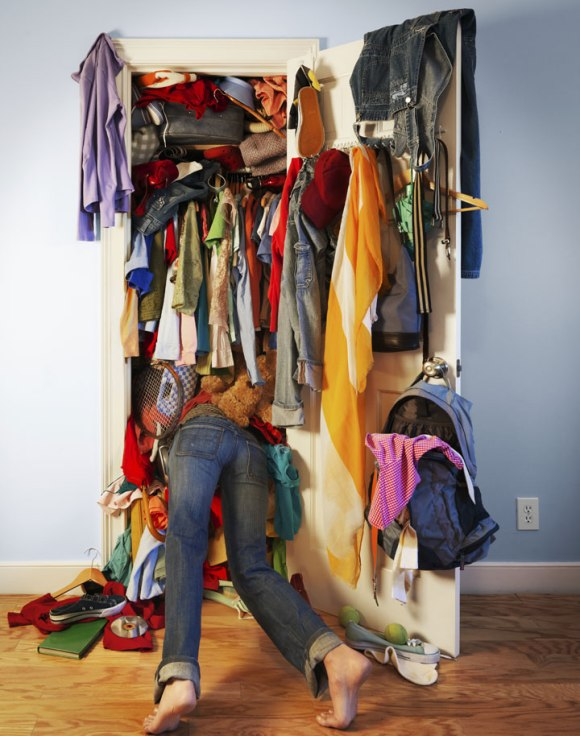 clear out your wardrobe