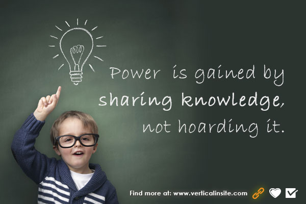 power in sharing