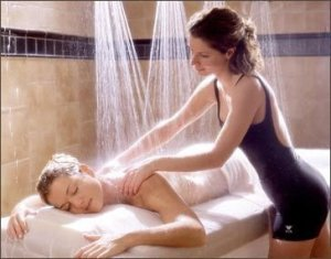 shower massage