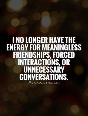 unnecessary-friendships