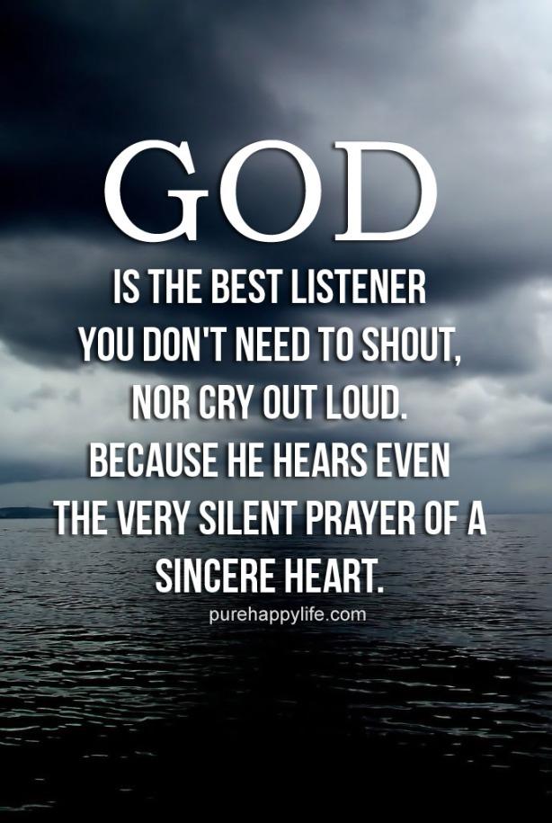god-listen